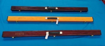 "ROSETTA SUPERIOR60"" 152cm WOOD EFFECT ABS SNOOKER BILLIARD POOL 1 PIECE CUE CASE"